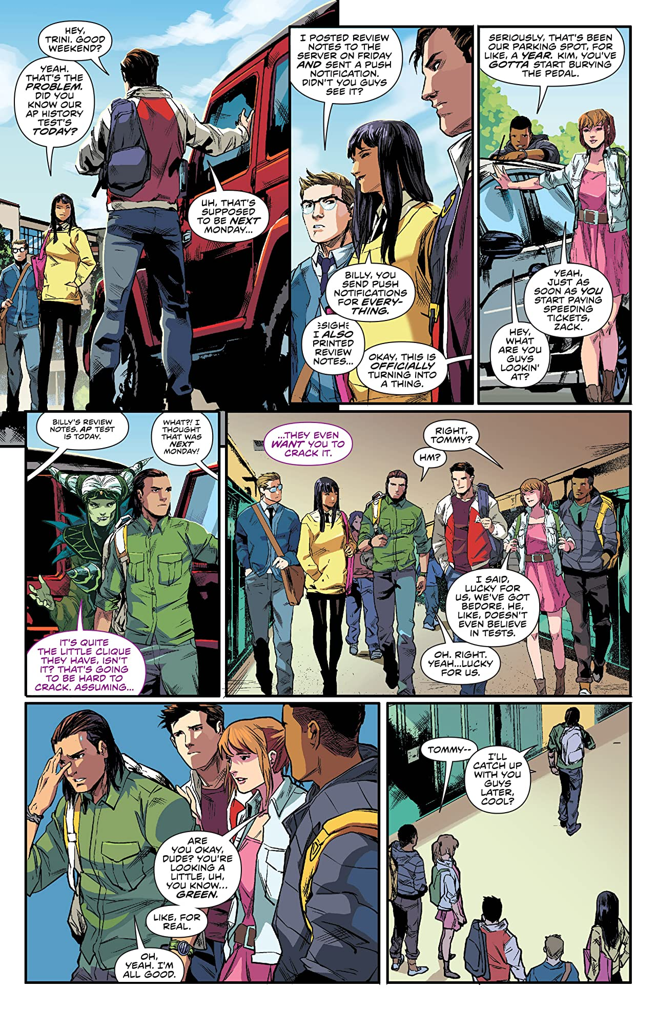 Mighty Morphin Power Rangers #0