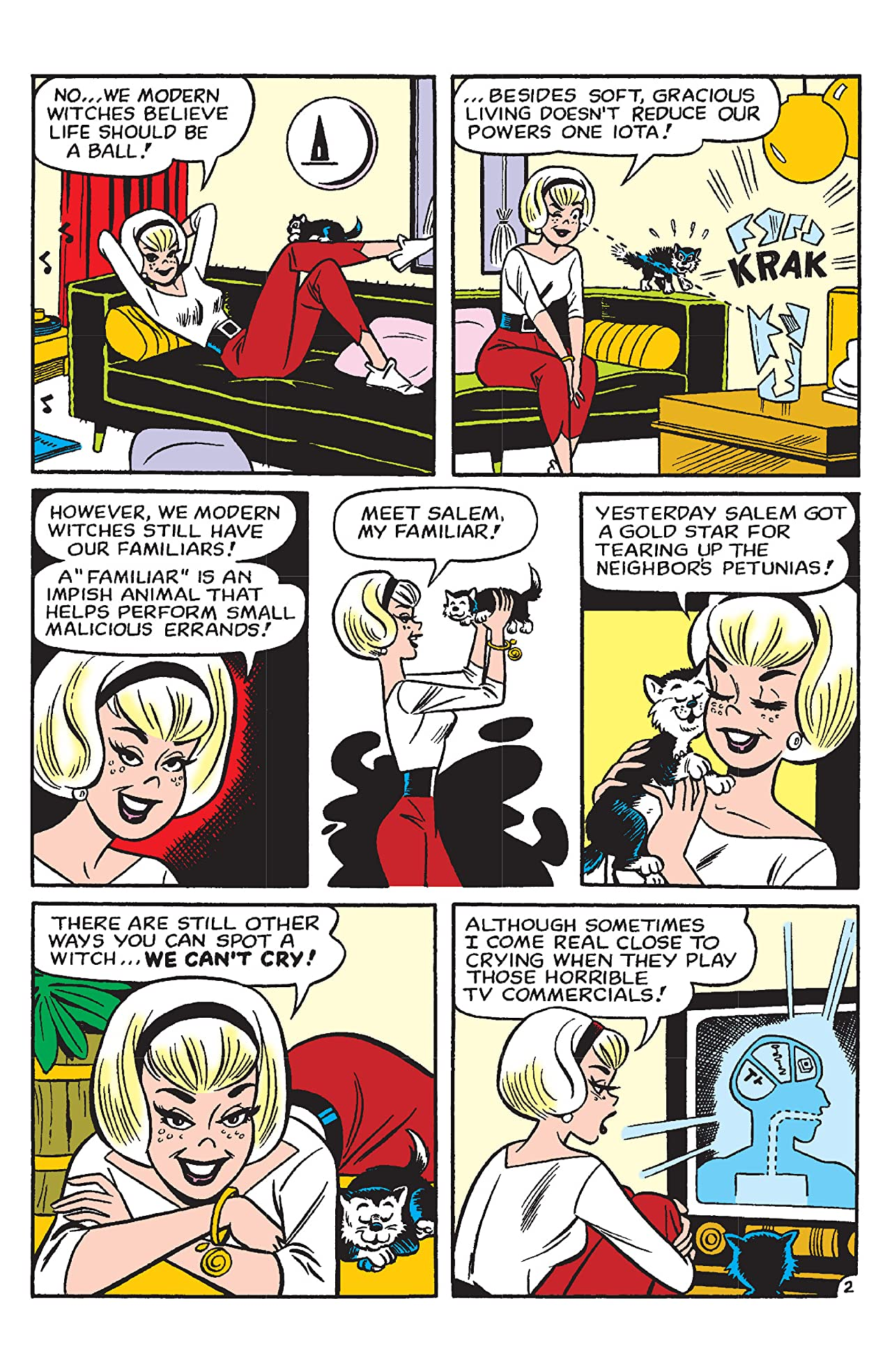 PEP Digital #26: Sabrina the Teenage Witch 50 Magical Stories