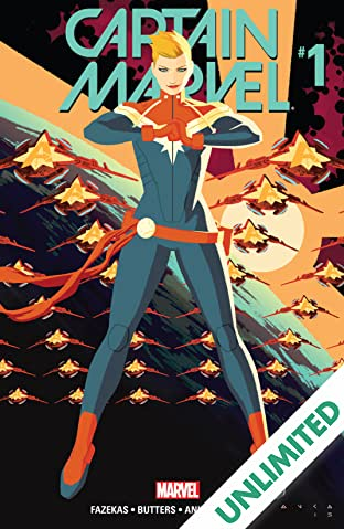Captain Marvel (2016) #1