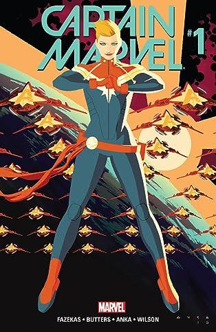 Captain Marvel (2016) #1