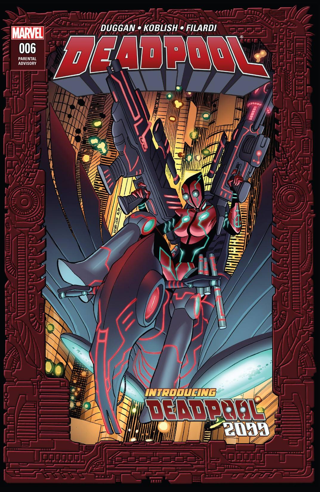 Deadpool (2015-2017) #6