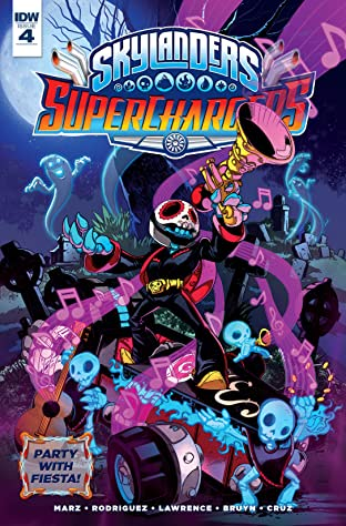Skylanders: Superchargers No.4