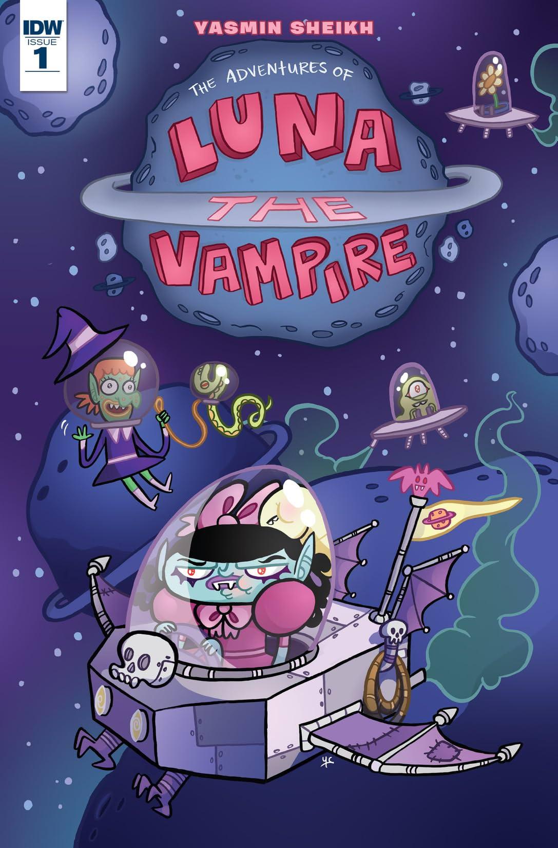 Luna the Vampire #1