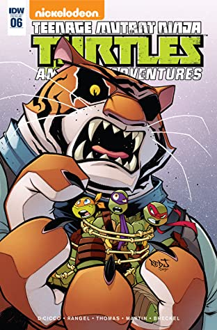 Teenage Mutant Ninja Turtles: Amazing Adventures No.6