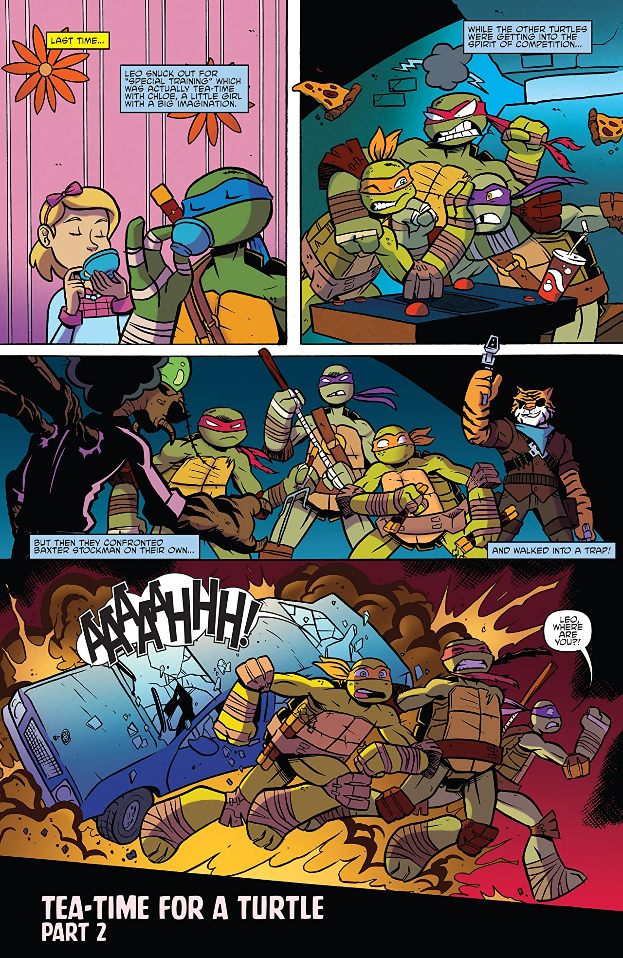 Teenage Mutant Ninja Turtles: Amazing Adventures #6