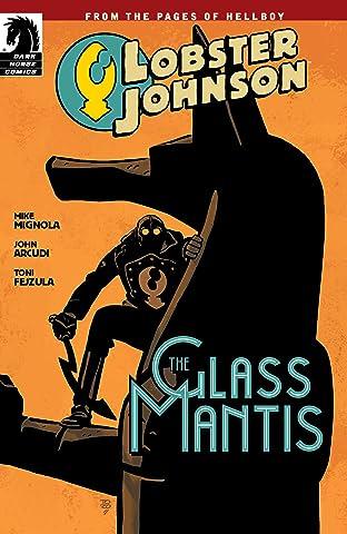 Lobster Johnson: The Glass Mantis #0