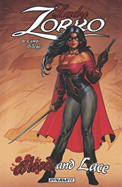 Lady Zorro: Blood And Lace