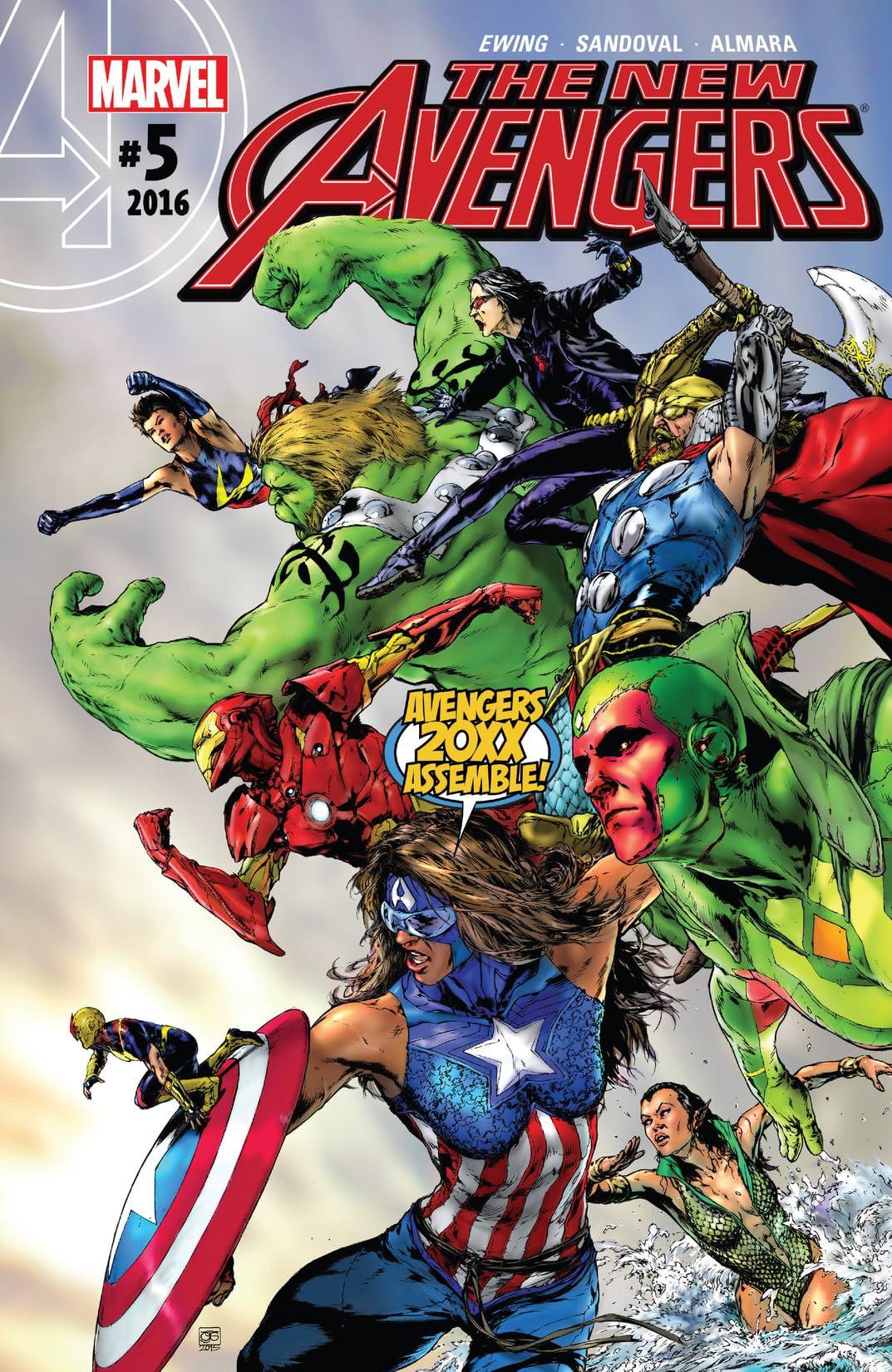 New Avengers (2015-2016) #5