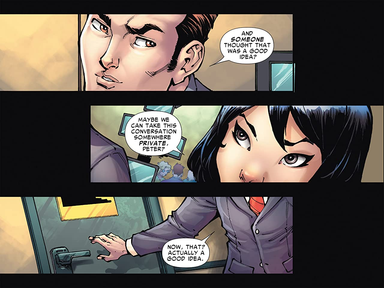 Amazing Spider-Man & Silk: Spider(Fly) Effect Infinite Comic #1