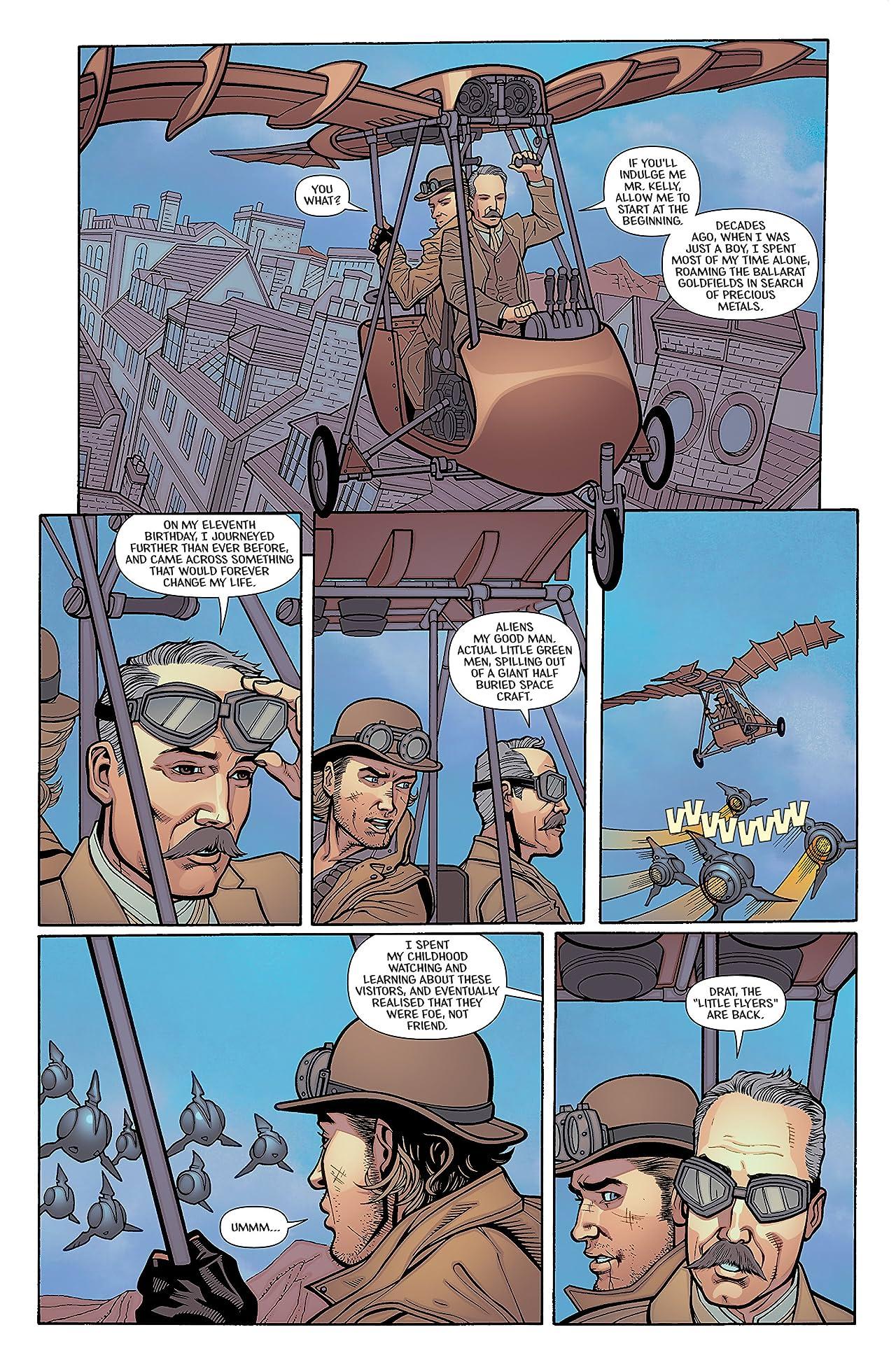 Ned Kelly - Ironclad Alien Killer #2