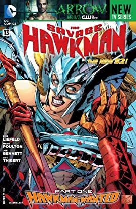 The Savage Hawkman (2011-2013) #13
