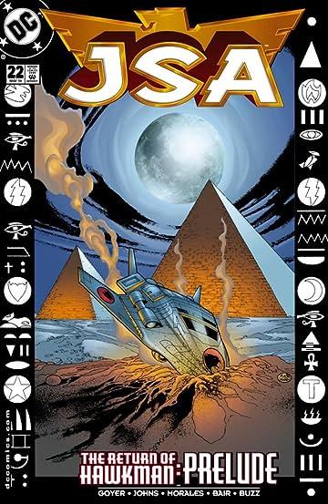 JSA (1999-2006) #22