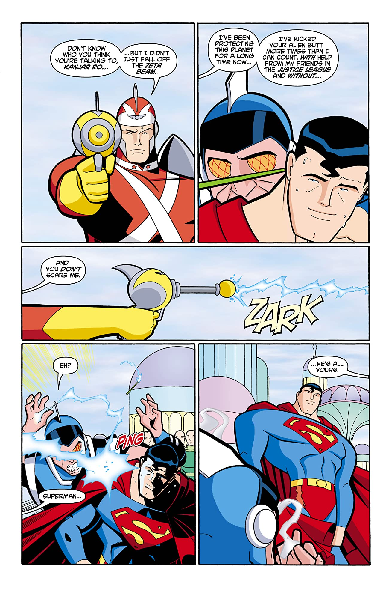 Justice League Unlimited #4