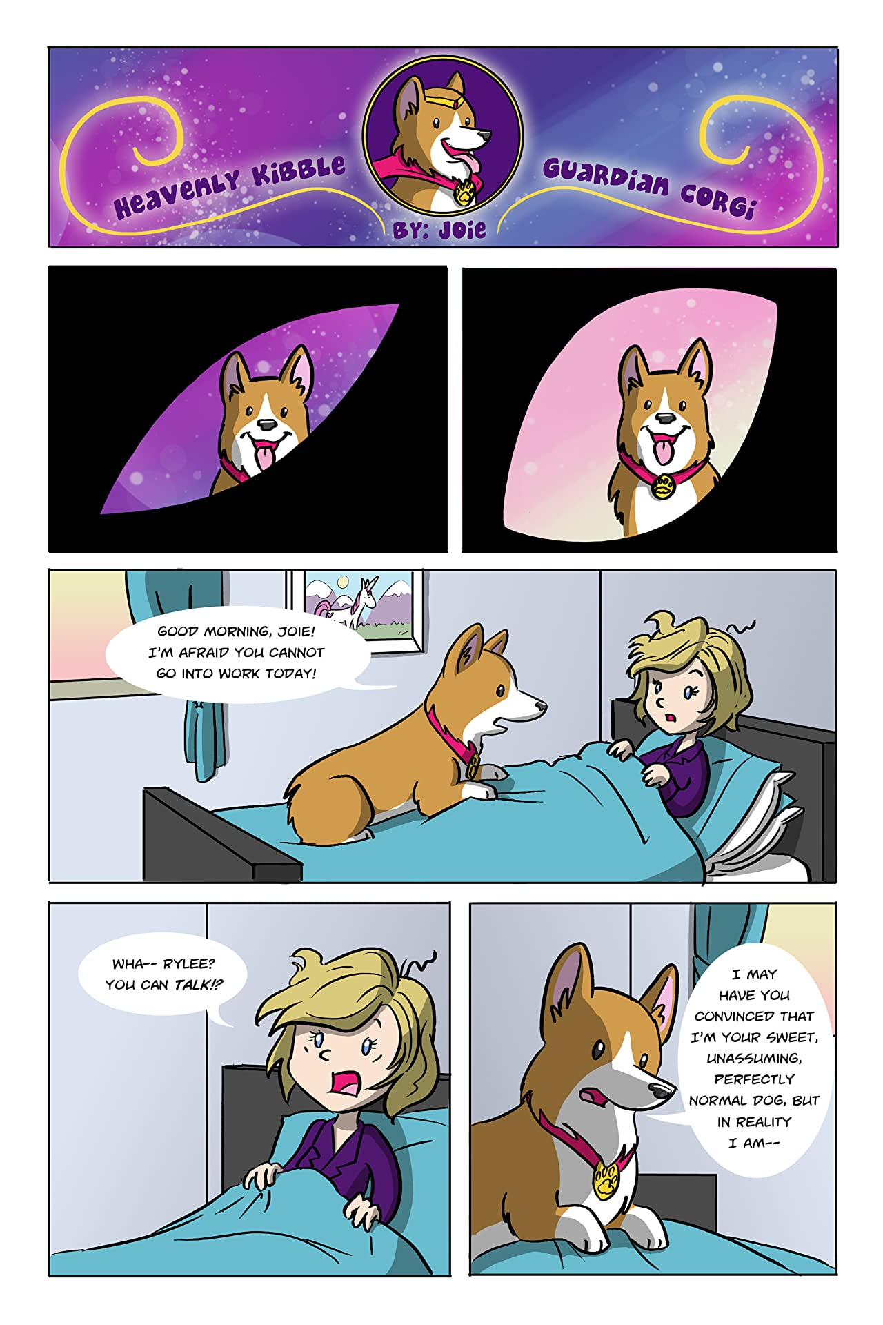 Heavenly Kibble Guardian Corgi #1