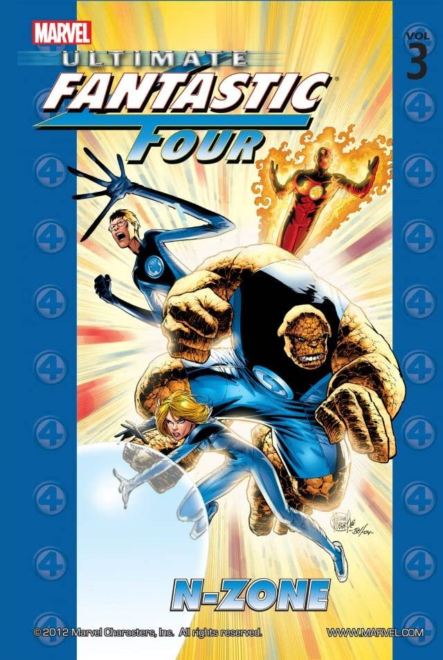 Ultimate Fantastic Four Vol. 3: N-Zone