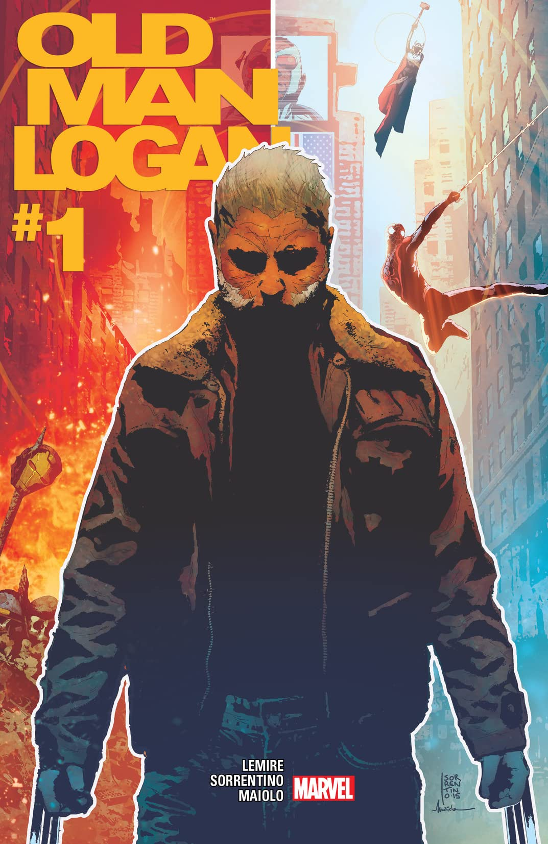 Old Man Logan (2016-) #1