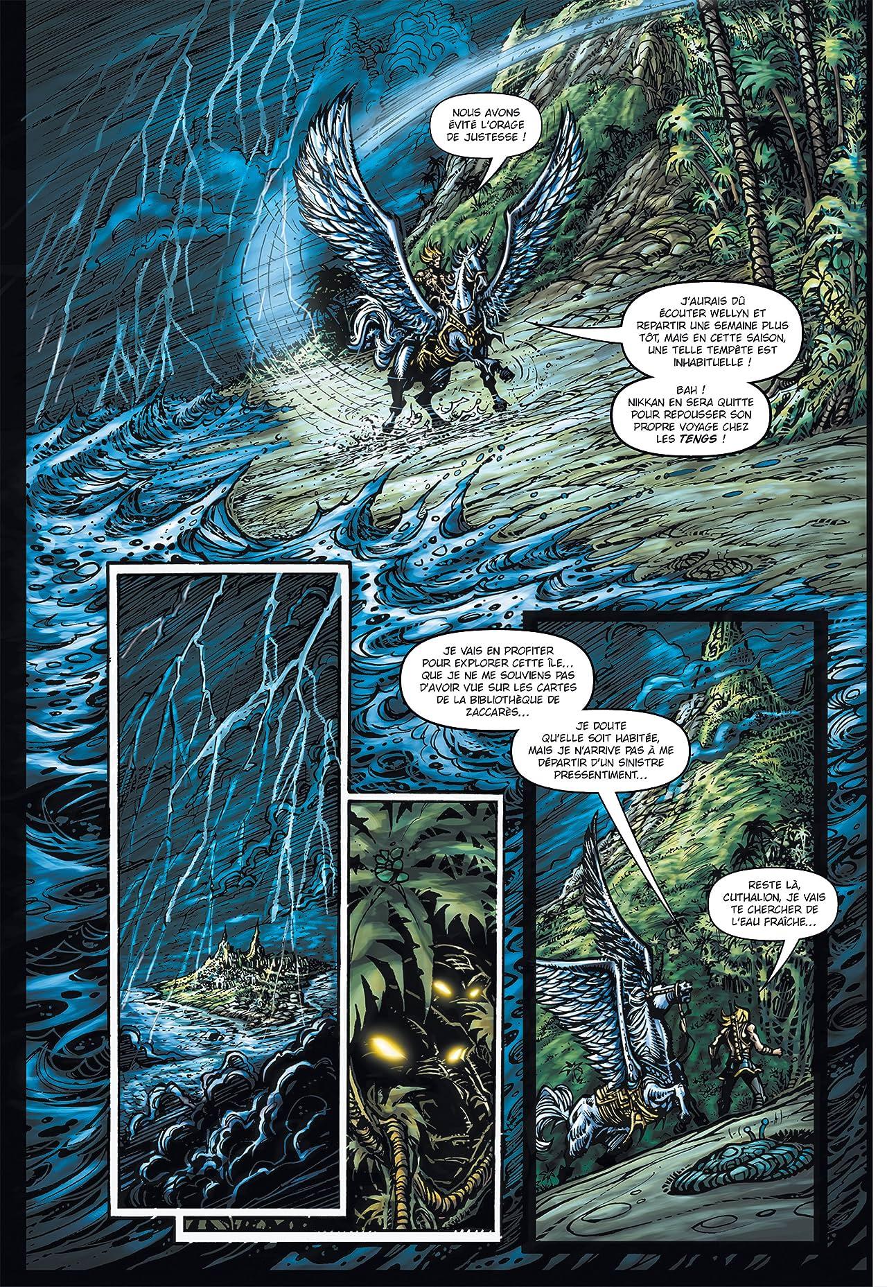 GALAOR Vol. 14: L'Ile des Lamentations
