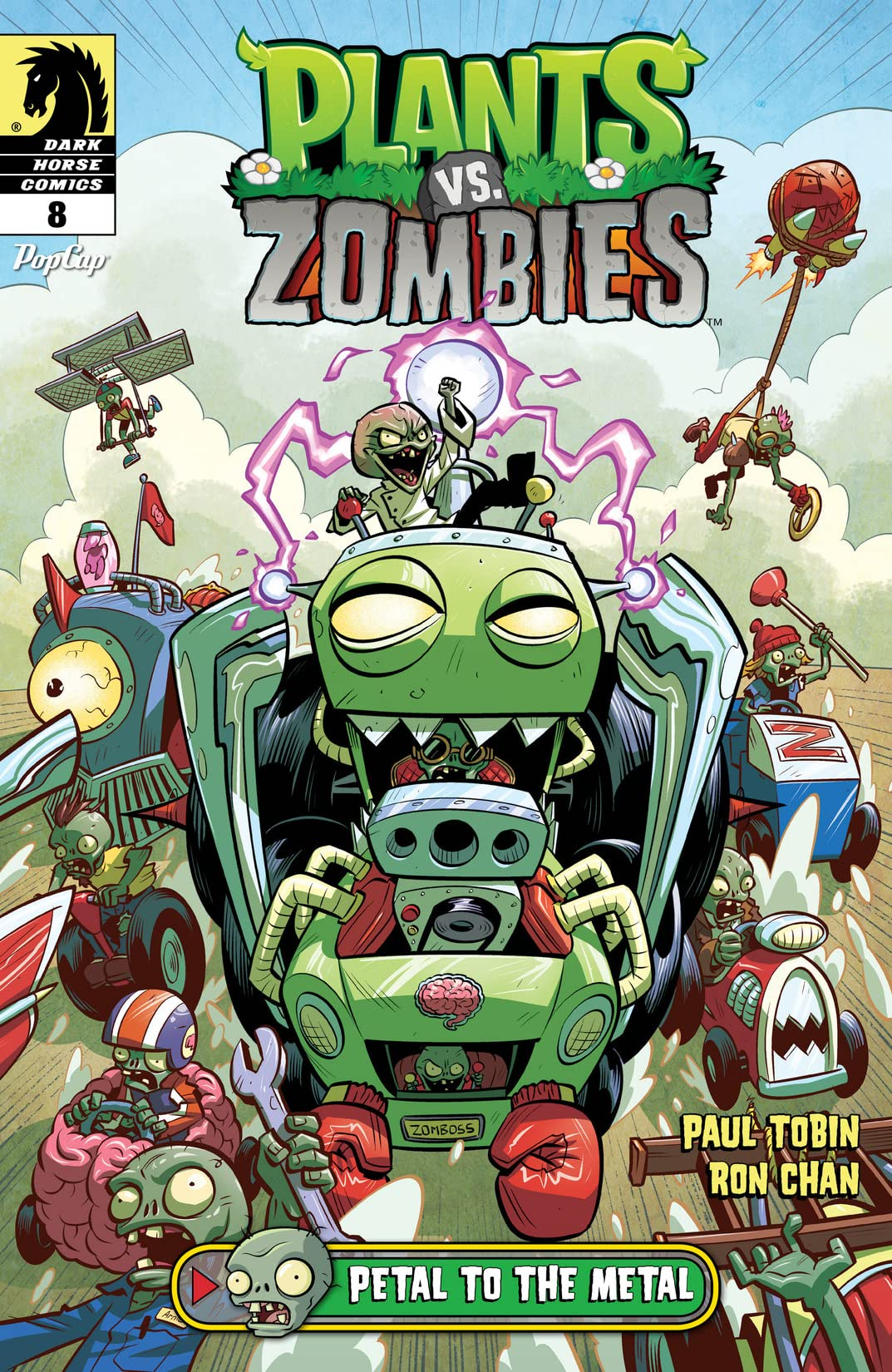 Plants vs. Zombies: Petal to the Metal #8