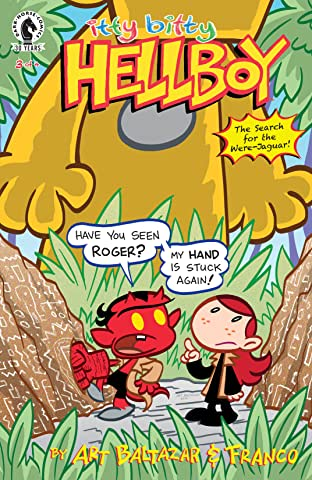 Itty Bitty Hellboy: The Search For the Were-Jaguar! #3