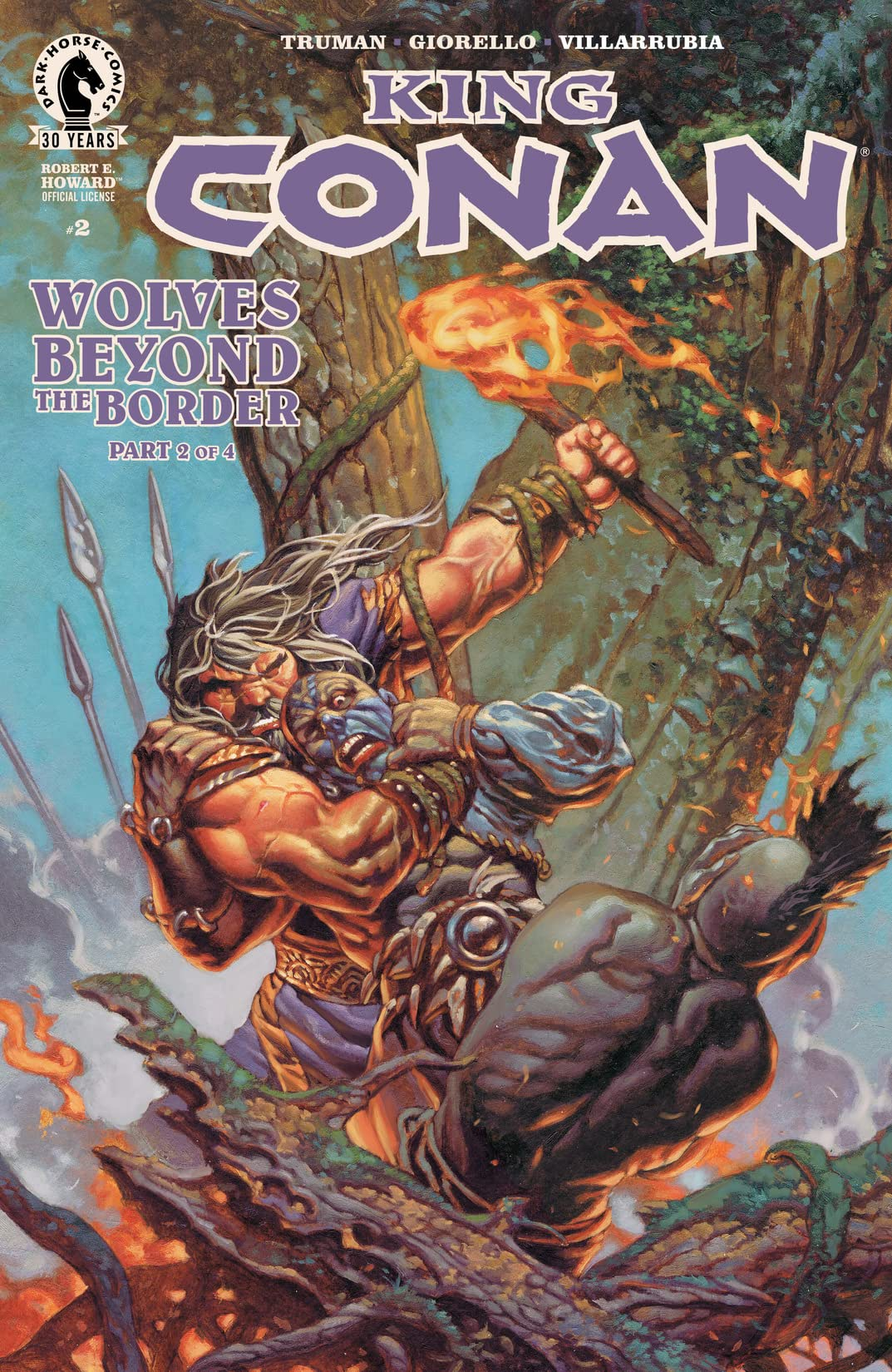 King Conan: Wolves Beyond the Border #2