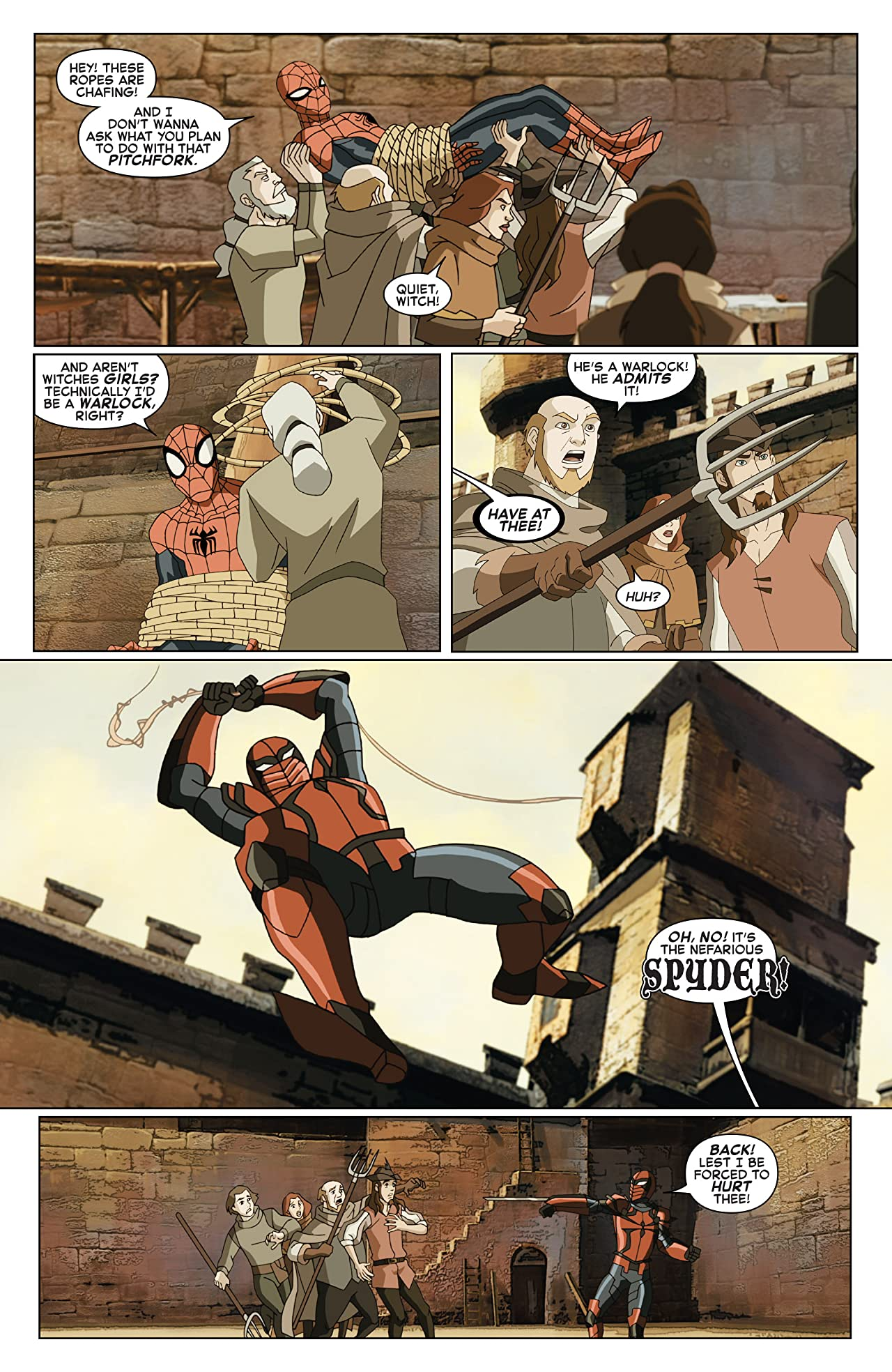 Marvel Universe Ultimate Spider-Man: Spider-Verse (2015-2016) #3 (of 4)