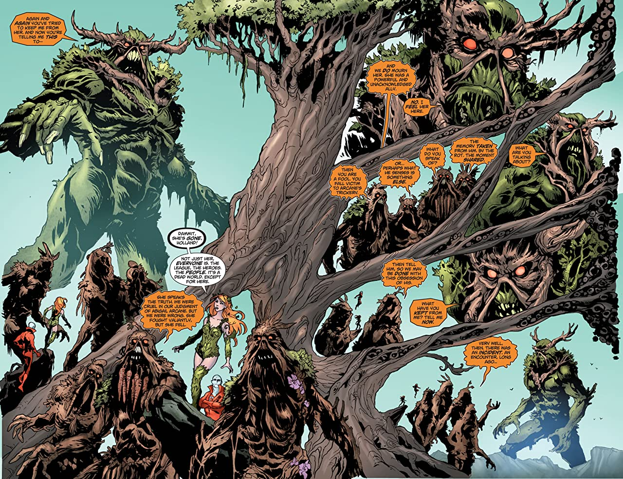 Swamp Thing (2011-2015): Annual #1