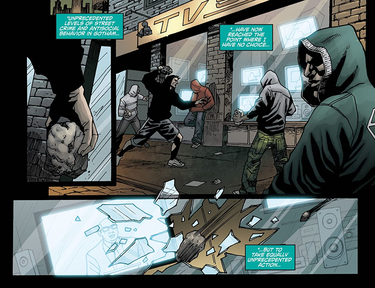 Batman: Arkham Unhinged #49