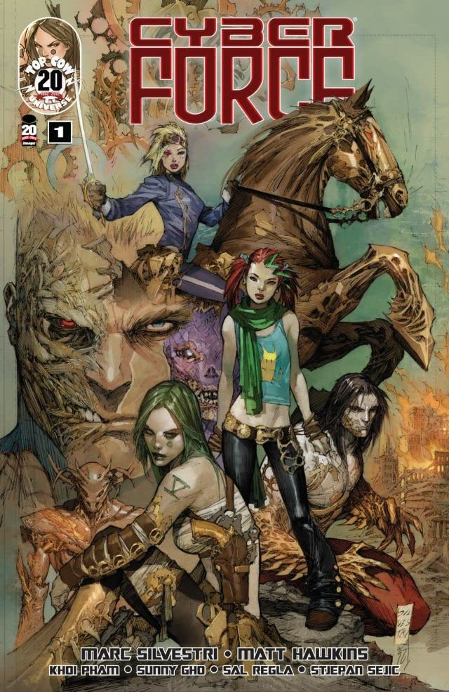 Cyber Force (2012) #1