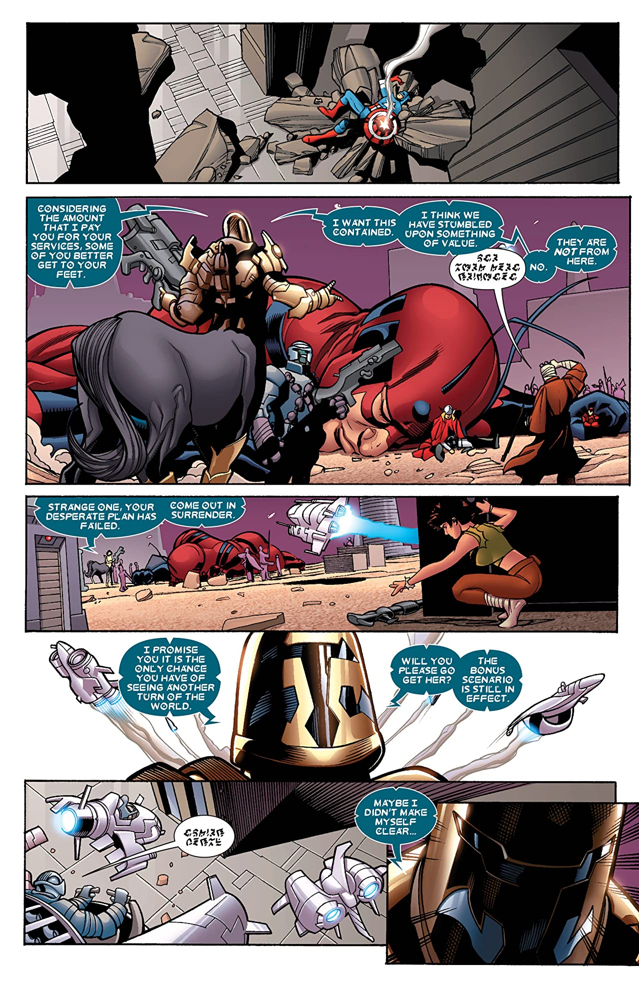 Avengers (2010-2012) #33
