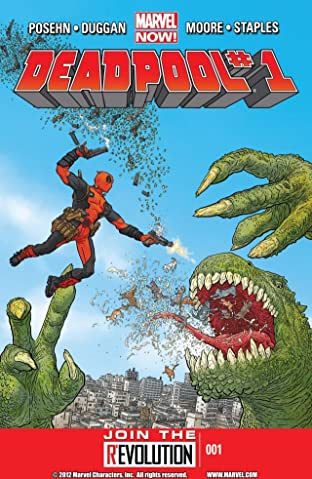 Deadpool (2012-2015) No.1
