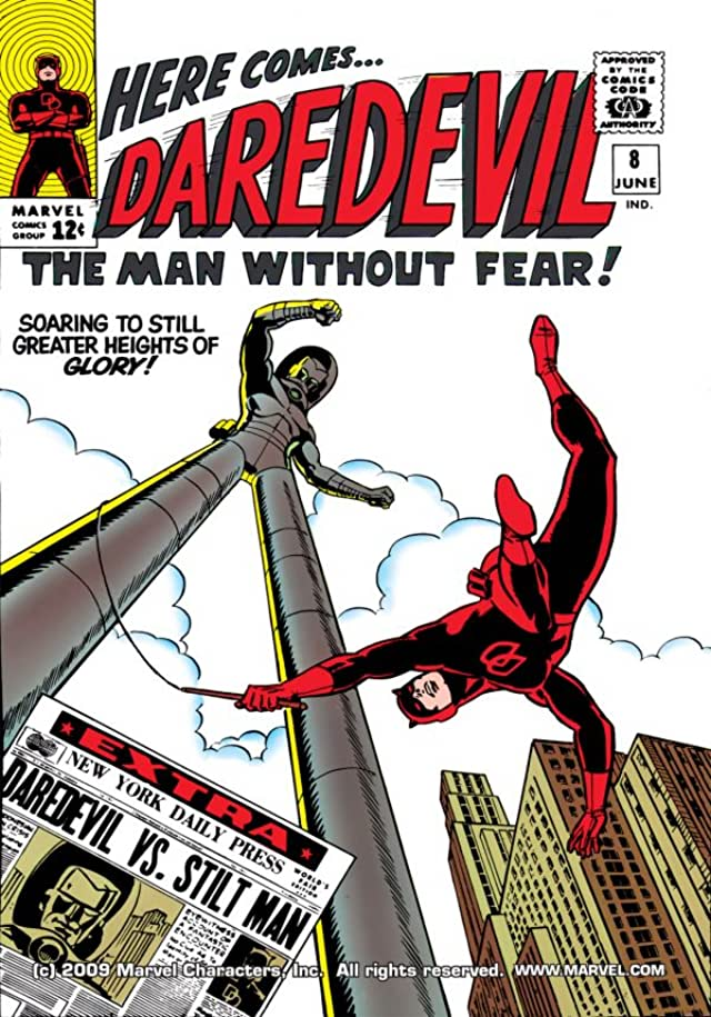 Daredevil (1964-1998) #8