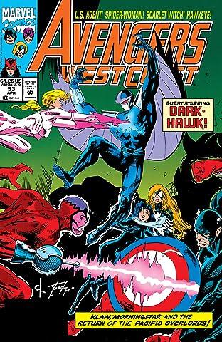 Avengers West Coast (1985-1994) #93