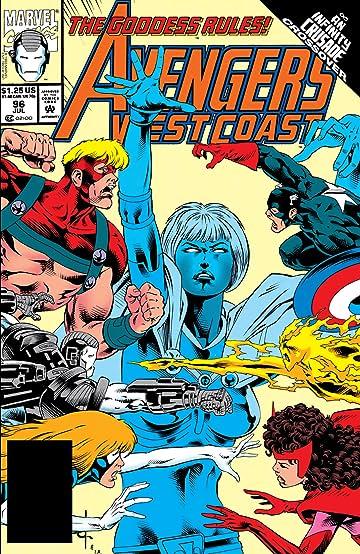 Avengers West Coast (1985-1994) #96
