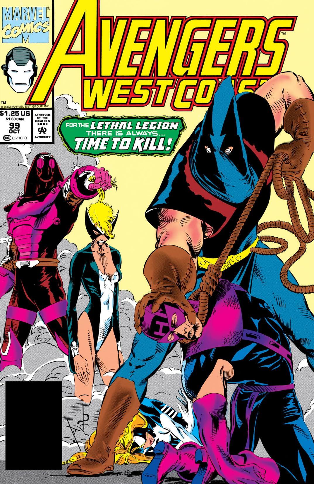 Avengers West Coast (1985-1994) #99