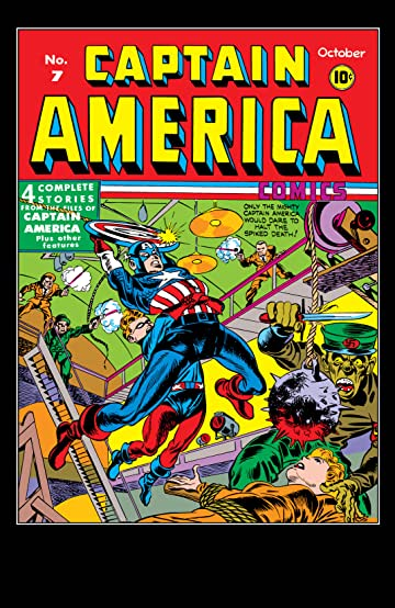 Captain America Comics (1941-1950) #7