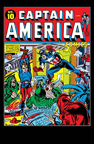 Captain America Comics (1941-1950) #10