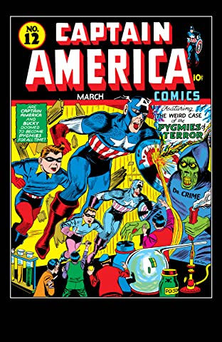 Captain America Comics (1941-1950) #12