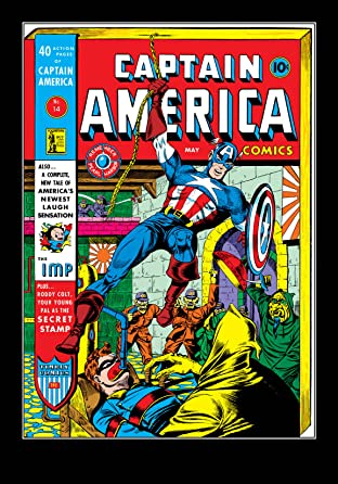 Captain America Comics (1941-1950) #14