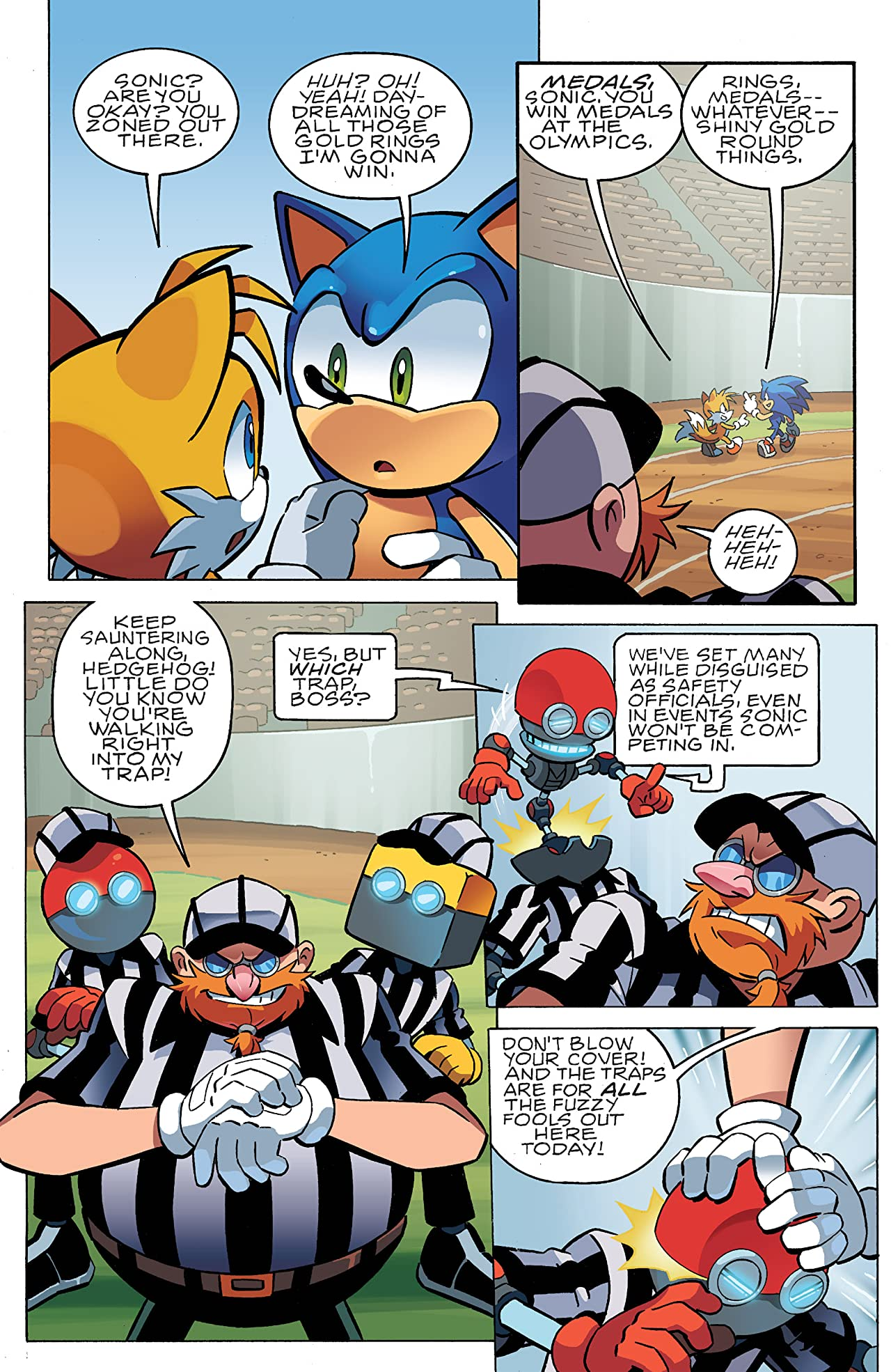 Sonic the Hedgehog #242