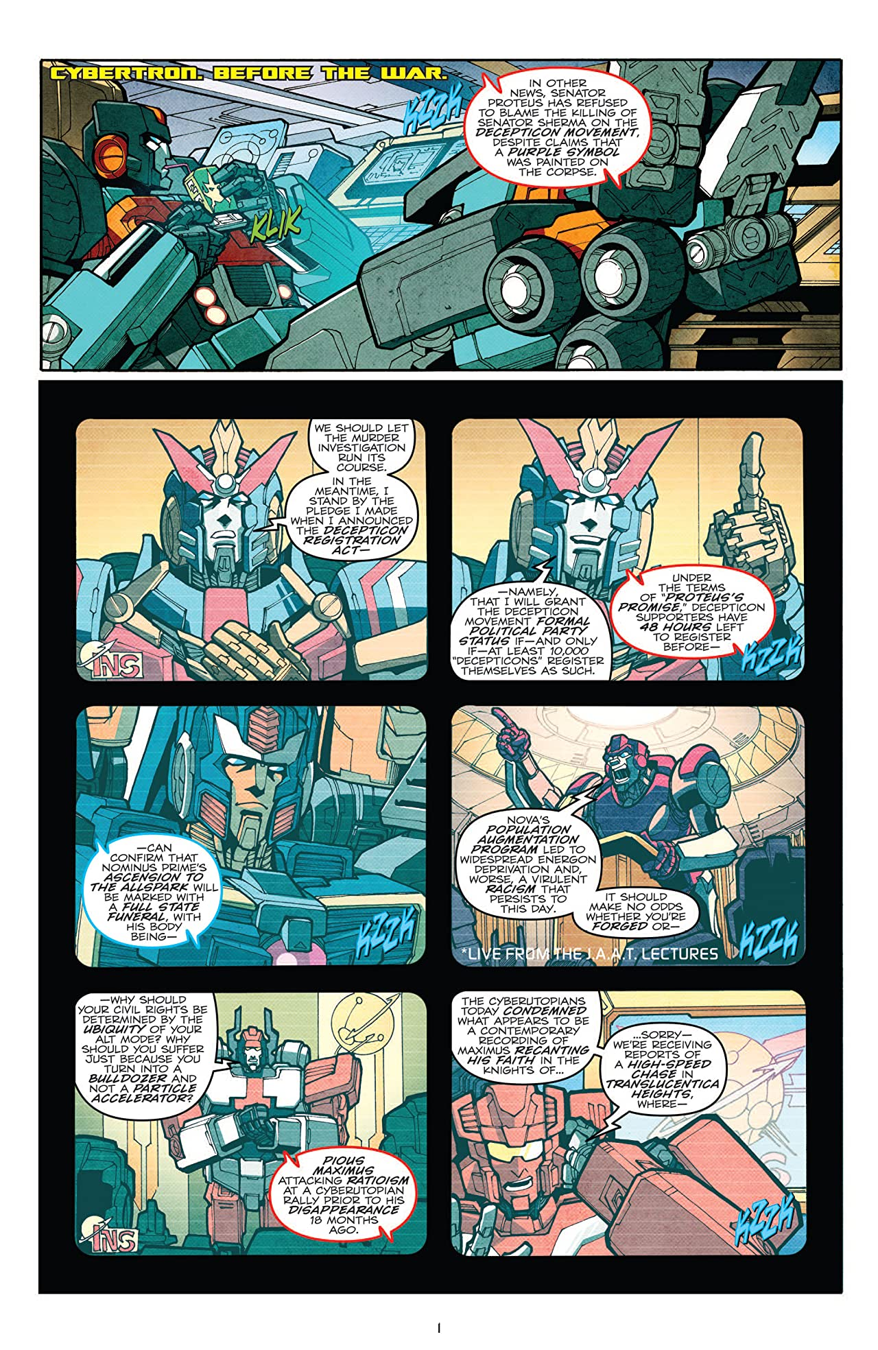 Transformers: More Than Meets the Eye (2011-2016) #10