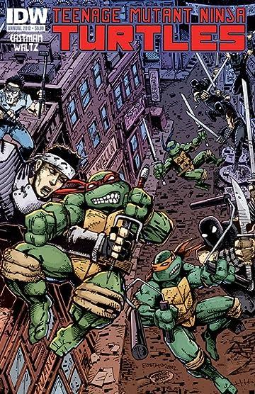 Teenage Mutant Ninja Turtles: Annual 2012