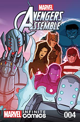 Marvel Universe Avengers Infinite Comic #4