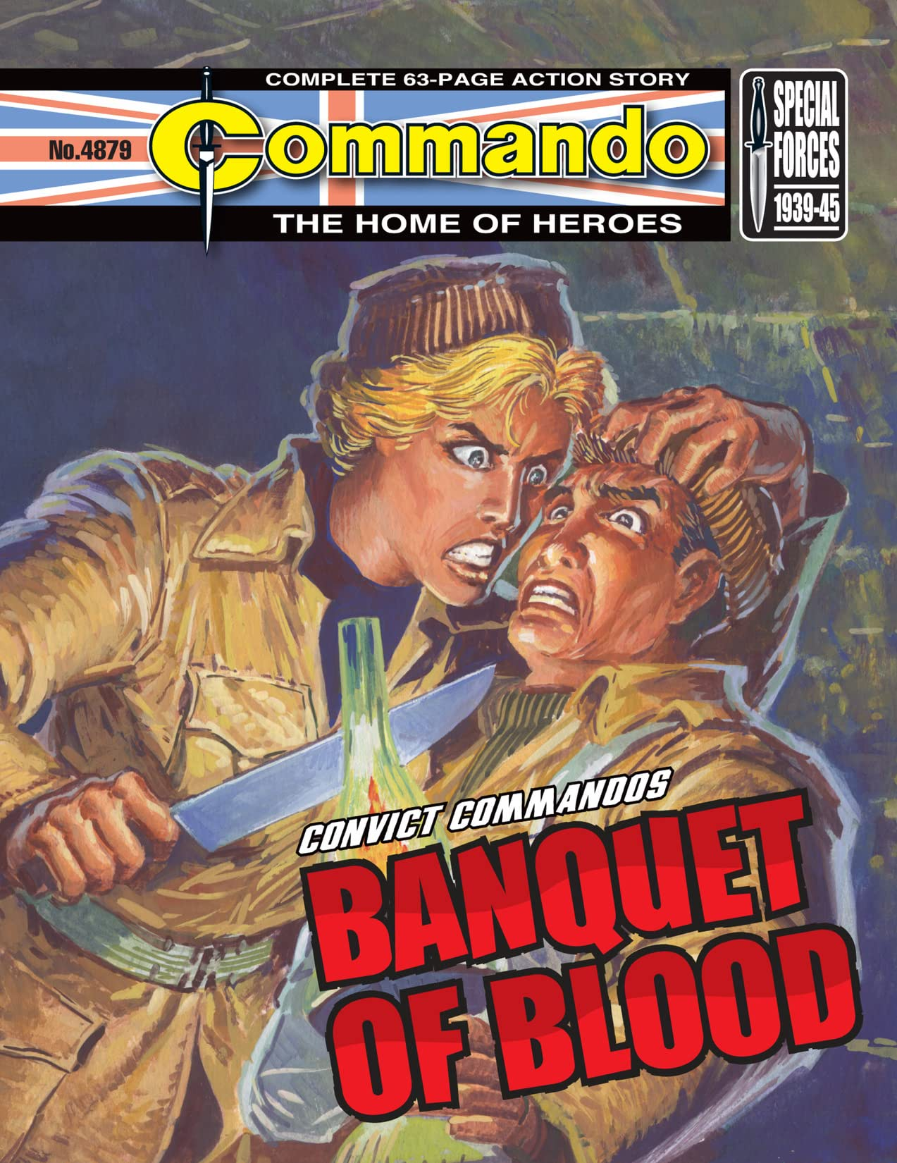 Commando #4879: Banquet Of Blood