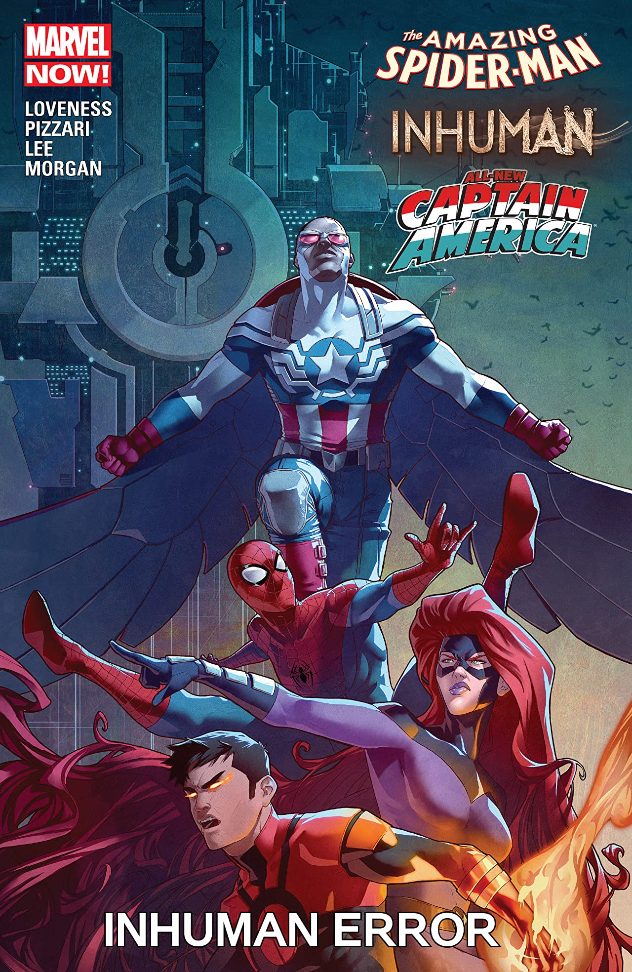 Amazing Spider-Man / Inhumans / All-New Captain America: Inhuman Error