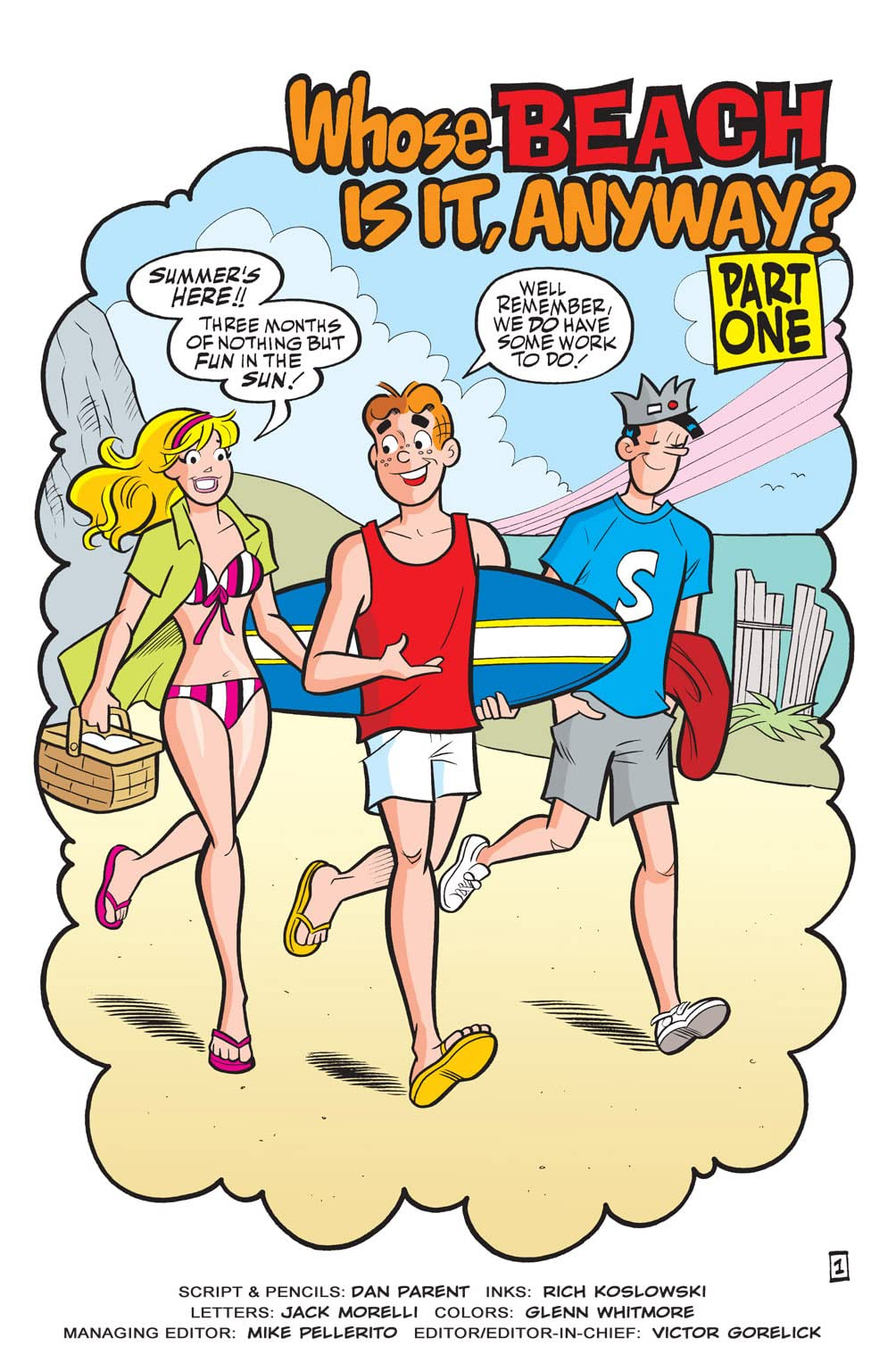 Free Comic Book Day 2010: Archie's Summer Splash