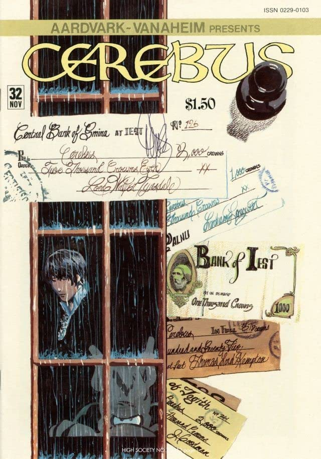 Cerebus Vol. 2 #7: High Society