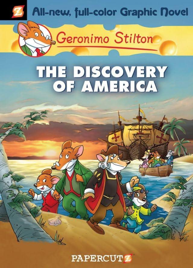 Geronimo Stilton Vol. 1: Discovery of America Preview