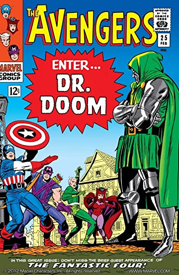 Avengers (1963-1996) #25