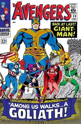 Avengers (1963-1996) #28