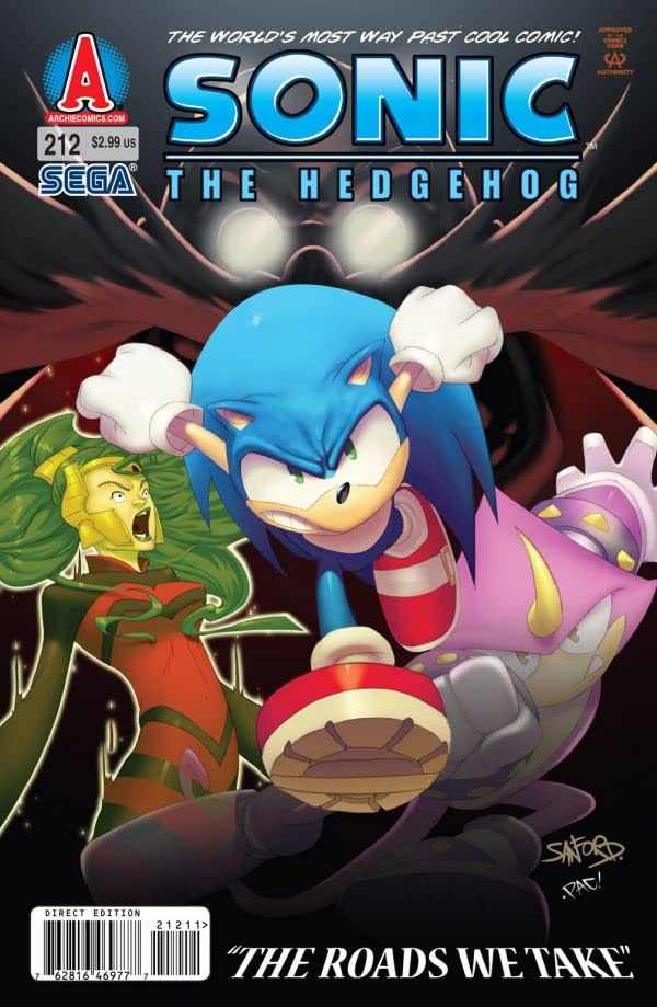 Sonic the Hedgehog #212